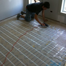 Amuheat In Screed Floor Heating