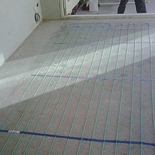 PAP Inscreed Floor Heater